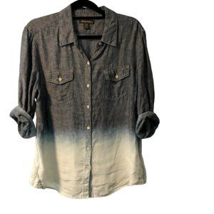 Tommy Bahama Ombre Button Down Shirt Size L